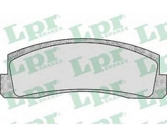 Тормозные колодки 05p179 LPR