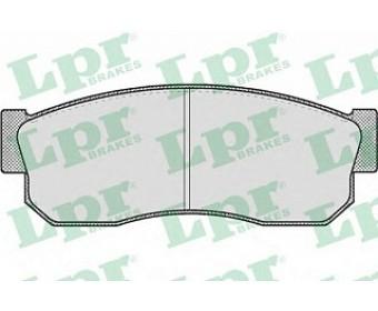 Передние тормозные колодки 05p185 LPR