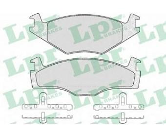 Тормозные колодки 05p224 LPR