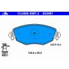 Ate Тормозные колодки 13046039872 Ate не подготовленно для датчика износа, без датчика износа