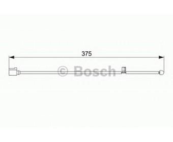 Тормозные колодки 1987474562 Bosch