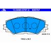 Ate Передние тормозные колодки 13046057672 Ate не подготовленно для датчика износа, без датчика износа