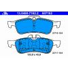 Ate Тормозные колодки задние 13046071622 Ate подготовлено для датчика износа колодок, без датчика износа