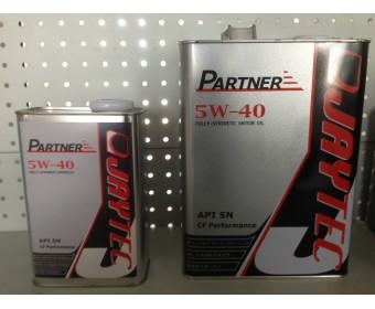 Jaytec Partner SN 5w40 синтетическое для бензиновых двигателей (API SN/CF) 1л