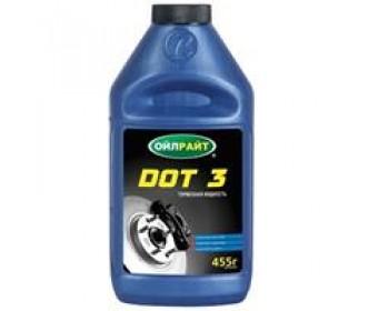 Тормозная жидкость dot-3, 455 гр.