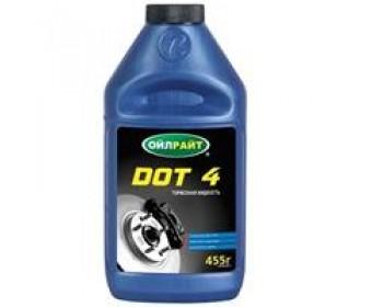 Тормозная жидкость dot-4, 455 гр.
