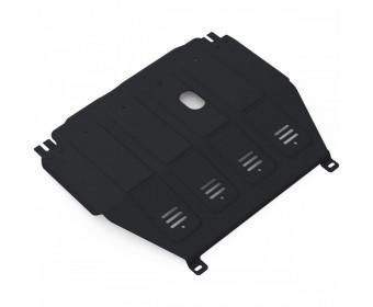 Защита картера Chevrolet Aveo картер + КПП V-1.6 (2012-) (Штатный крепеж)
