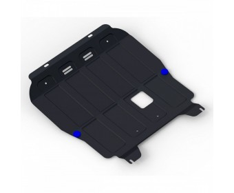 Защита картера + комплект крепежа Chevrolet Aveo 2008, V-1.2, 1.4 (2008-2012)