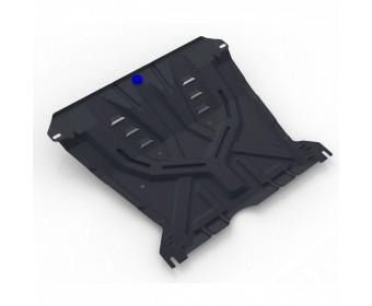 Защита картера + комплект крепежа Chevrolet lacetti, V - 1.4, 1.6, 1.8 (2004-)